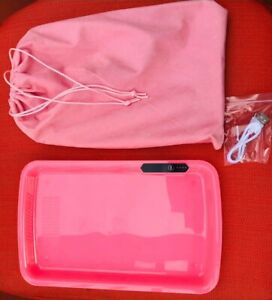 LED Rolling Glow Light Up Tray Rechargeable USB