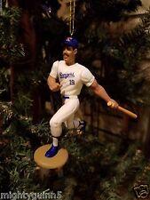 Juan Gonzalez Texas Rangers MLB Baseball Christmas Tree Ornament White Jersey 2