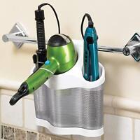 3 Storage White Style Station Hair Polder Organizer Black Dryer Holder Care Iron