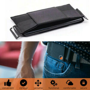 Minimalist Invisible Belt Wallet Mini Pouch Waist Bag for Key ID Card Holder