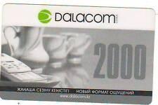 Сard recharge Dalacom 2000 units. Kazakhstan.