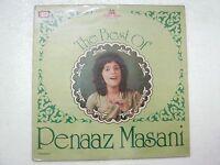 PENAAZ MASANI THE BEST 1984 RARE LP RECORD Orig vinyl india hindi GHAZAL VG+