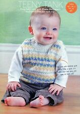 ~ Baby Knitting Pattern For Cutest Fair Isle Tank Top ~