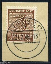 SBZ 3 Pfg. Ziffer 1945 orangebraun geprüft (S5924)