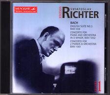 Sviatoslav RICHTER: BACH Piano Concerto English Suite 3 Kurt Sanderling Barshai