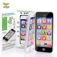 Childrens Y-Phone Educational Learning 123 Kids Y-Phone TOY 4s 5 BLACK -VIDEO