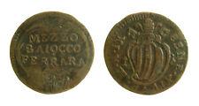 pcc2124_21) St Pontificio Benedetto XVI (1740-1758)  FERRARA MEZZO BAIOCCO