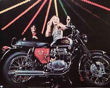 1967 BSA LIGHTNING 650 MOTORCYCLE-AD/PICTURE/PRINT 64 65 66 TRIUMPH HARLEY HONDA