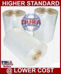 "18"" 3500 ft 75 Ga Central Fold Polyolefin Heat Shrink Wrap Film Retail Packaging"
