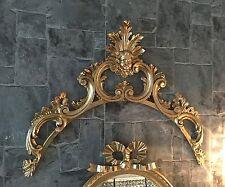Wanddeko Barock Wandbehang Gold Deko 58x47x4 Wandrelief Deko Antik C1533
