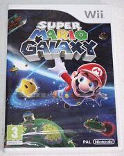 ++ jeu nintendo WII SUPER MARIO GALAXY neuf sous blister ++