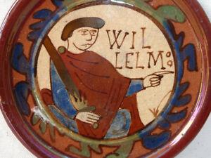 E69 ~ vintage Prince Willelm (Orange?) souvenir plate