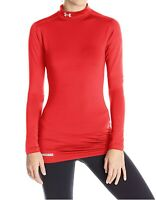 Under Armour Womens Coldgear Fitted Long Sleeve Top 1215968-600