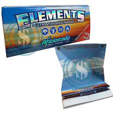 Elements Aficionado King Size Slim Chlorine Free Rice Papers #SmoKingUK