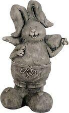 Gartenfiguren Hasen 2er SET mit toller Steinoptik