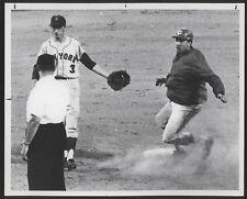 1967 Orig REDS Press Photo - Reds vs Mets