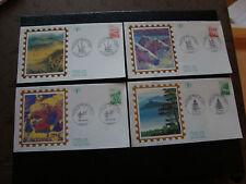 FRANCE - 4 enveloppes 1er jour 27/5/1995 (regions) (cy21) french