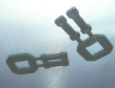 More details for 100 per pack 12mm plastic buckles  for use with plastic or polyester strapping