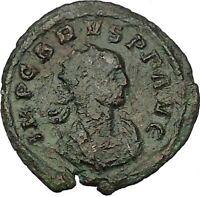 CARUS 282AD Authentic Rare Ancient Roman Coin Virtus Valour i52722