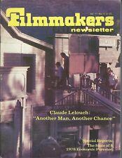 Magazine - Filmmakers Newsletter - Claude Lelouch Wind Generator 02/78 (FN44)