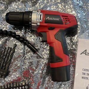 Avid Power 12V Cordless Drill ACD306-N New Open-Box
