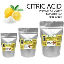 Citric Acid Food Grade Preservative Anhydrous Powder ISO Certified Resealable