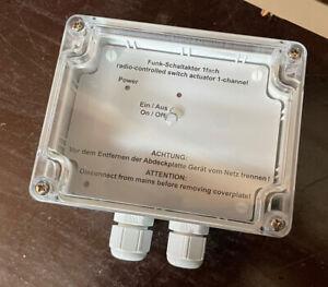 Funk Schaltaktor Aufputz 1-fach Homematic HM-LC-Sw1-SM