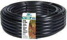 1/2 in. x 100 ft. Drip Irrigation Tubing Poly Emitter Line Sprinkler System Tube