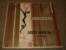 Bruckner Great Mass No 3 In F Minor Grossmann~Vox PL 7940~VG++ Vinyl~FAST SHIP!