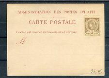 Carte Postale Republique d´Haiti 3 Cents - b1928
