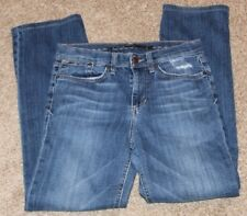 Joe's Jeans JJ Size 29 / 8 Teen Ladies Jeans with stretch Classic Fit distress
