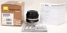 Nikon Nikkor 50mm f/1.4 SIC AI-S Manual Focus Lens - Brand New in Box