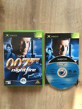 James Bond 007: NIGHTFIRE jeu vidéo pour Microsoft Xbox PAL Testé