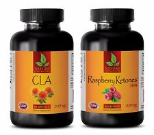 Antioxidant liquid supplement - CLA - RASPBERRY KETONES COMBO - cla powder diet