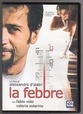 dvd LA FEBBRE Fabio VOLO Valeria SOLARINO
