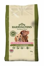 Harrington's Dog Food Complete Rich In Salmon and Potato 12kg Free P&P NEW