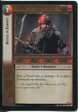 Lord Of The Rings CCG Foil Card SoG 8.R2 Battle In Earnest