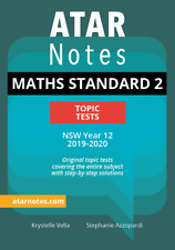 ATAR Notes HSC Year 12 Mathematics Standard 2 Topic Tests