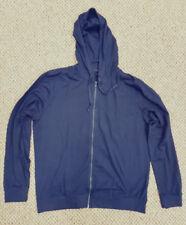 Sudaderas de hombre de manga larga sin marca color principal azul