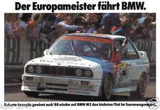 BMW E30 M3 DTM  Motorsport poster print # 4