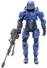 "Halo 4 SPARTAN WARRIOR BLUE 5.25"" Action Figure McFarlane 2012"