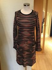 Aldo Martins Dress Size 18 BNWT Black Beige Coral RRP £196 Now £69