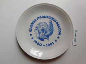 DDR Ehrenteller 25 Jahre Staatszirkus der DDR 1960 - 1985
