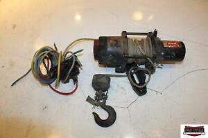 2013 Honda Rancher 420 2500 Warn Winch W/ Controls and Wiring