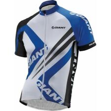 giant bicycle jersey and shorts size L brand new with tags blue black white