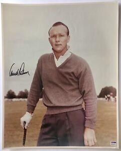 Arnold Palmer signed photo 16x20 large autographed 2021 masters golf pga psa dna