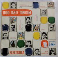 """1000 Takte Tonfilm - Bibi Johns - Sonny Boy u.a. - Electrola - /10"""" LP"""