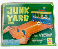 1975 Vintage The JunkYard Game by Ideal A Target Game With Pinball Action