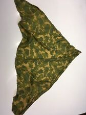 WWII Pattern U.S. ARMY PARACHUTE CAMO TYPE SCARF FOR PARATROOPERS D-DAY