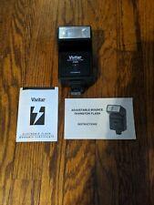 Vivitar 2000 Electronic Flash Hot Shoe Automatic + Instruction Manual